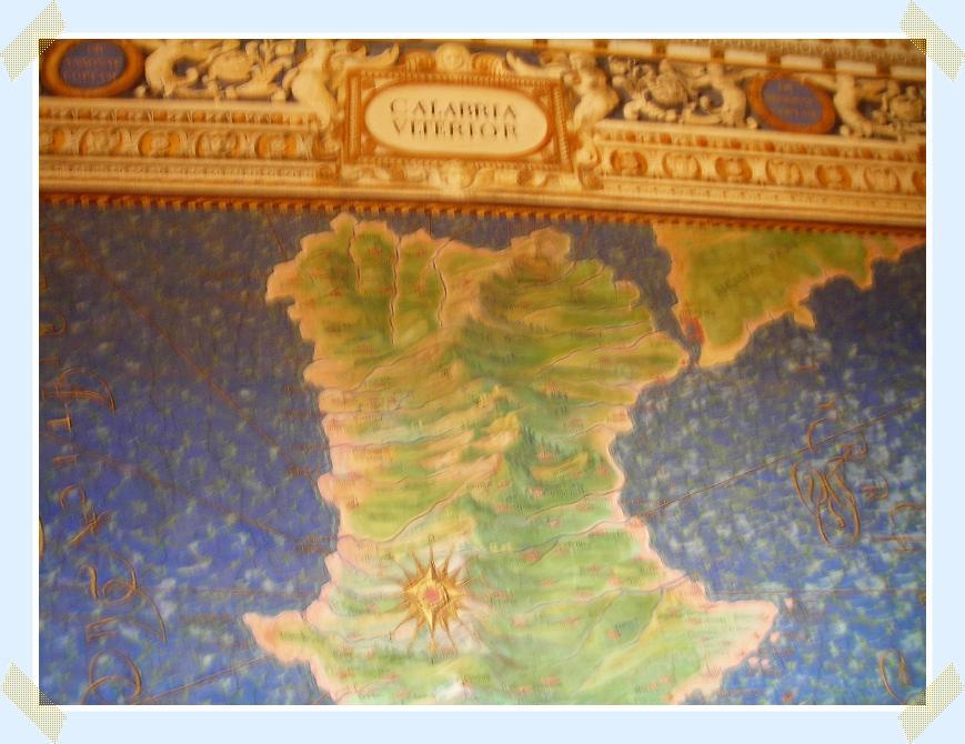 Carta Geografica Della Calabria